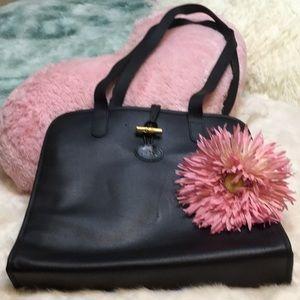 ..Longchamp leather Roseau purses